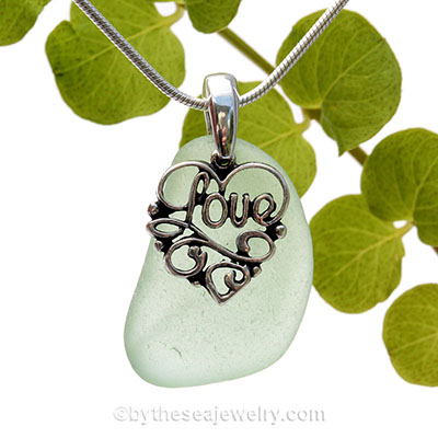 sea-glass-necklace-sale-by-the-sea-jewelry Complete necklce
