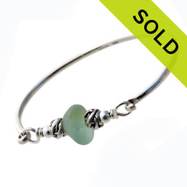Sorry, this Sea Glass Bangle Bracelet has been SOLD!