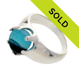 Sorry this sea glass jewelry piece has sold!