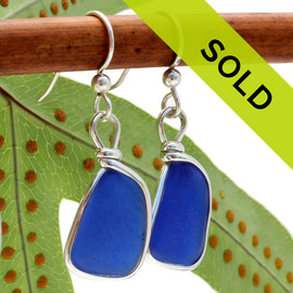 Sorry this pair of sea glass earrings have been sold!