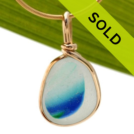 Sorry this sea glass jewelry piece is no longer for sale