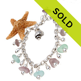Sorry this sea glass bracelet is no longer available