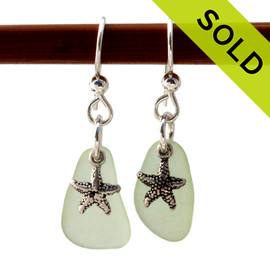 Sorry these EXACT Sea Glass Earrings have been SOLD!