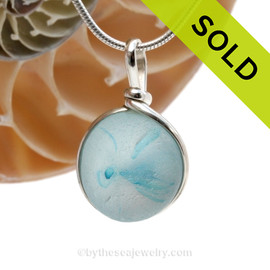 SOLD - Sorry This ULTRA RARE Sea Glass Jewelry Pendant  Is NO LONGER AVAILABLE!