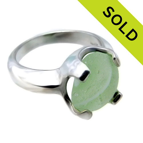 Sorry this Sea Glass Rings has been SOLD!