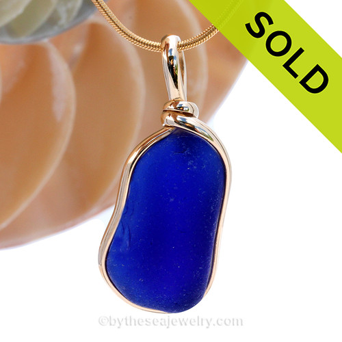 SOLD - Sorry this Rare Sea Glass Pendant is NO LONGER AVAILABLE!