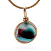 A great versatile and elegant piece to wear on a chain, collar or even a beaded necklace.