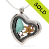 LOCKET #1 Custom Sea Glass Jewelry using Our Sea Glass
