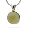 Totally reversible and ready to ship piece of rare Sea Glass Jewelry.
