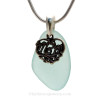 A stunning color that mom will love in a Genuine Sea Glass Necklace