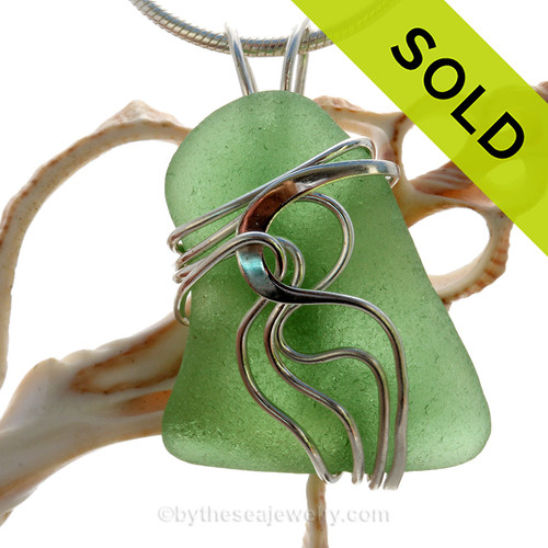SOLD - Sorry this Sea Glass Pendant has been SOLD!