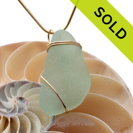 SOLD - Sorry this Sea Glass Pendant is NO LONGER AVAILABLE!