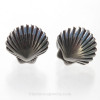 These are the Solid Sterling Shell Post Earrings you will receive!