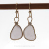 This is the EXACT pair of Purple Sea Glass Earrings you will receive!