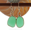 These are the EXACT Pair of Sea Glass Earrings You will receive
