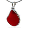 This is the EXACT Red Sea Glass Jewelry piece you will receive!