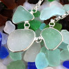 Working with this rough sea glass was not easy but we can set just about any piece of sea glass there is!