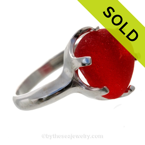 SOLD - Sorry this Sea Glass Rare Ring is NO LONGER AVAILABLE!