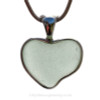 A really cool shape for a sea glass heart.