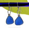 A great pair of Genuine Sea Glass Earrings for any time of year!