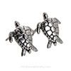 Choose a pair of matching Sterling Turtle Post Earrings