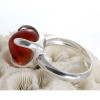 Ring from supplied sea glass.