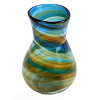 This is an example of a vintage Hartley and Wood vase, the know source of this amazing sea glass pendant.
