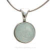 This is the EXACT Sea Glass Marble Pendant you will receive!~