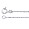 Our Sterling Silver Pendants come with a free plated chain meant fro presentation only.