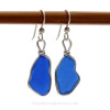 this is pair of sea glass earrings that you will receive!