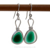 These are the EXACT pair of Ultra Rare Sea Glass Earrings you will receive!