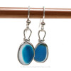 This is the EXACT Pair of Ultra Rare Sea Glass Earrings you will receive!