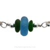 A detail of this EXACT Sea Glass Bangle Bracelet