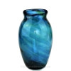 An example of a Hartley and Wood streaky  glass vase circa 1890 that may have been the intended end product for this glass.