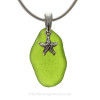 This is the EXACT Rare Sea Glass Necklace you will receive!