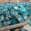Much of the sea glass from this region of England started out as slag of cullet glass.