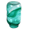 An example of a late 1800's Hartley Wood Streaky Vase that was the source of this amazing colorful sea glass.