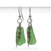AVAILABLE - This is the EXACT Pair of Sea Glass Earrings that you will receive!