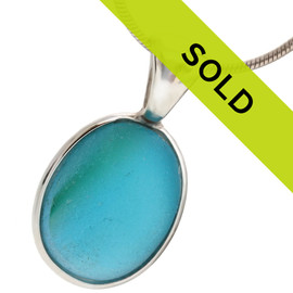 Sorry this one of a kind sea glass necklace pendant has been sold!