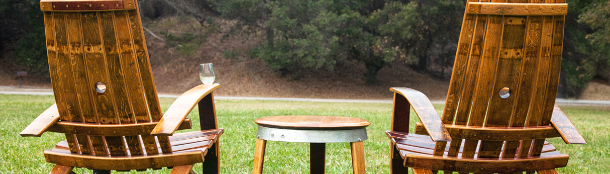 Shop Wine Barrel Chairs - Wine Barrel Chairs