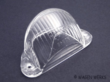 License Light Lens - Bug 1958 to 1963 Hella