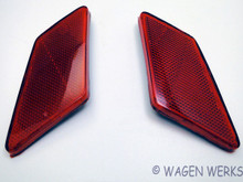 Tail Light Reflectors - Bug 1970 to 1972