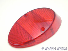 Tail Light Lens - Bug 1962 to 1967 - Red