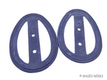 Tail Light Seals - Bug 1946 to 9/1952 pair -Split Window