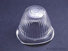 Turn Signal Lens - Bug 1955 to 1957 - Clear Hella