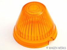 Turn Signal Lens - Karmann Ghia 1956 to 1959 - Amber LB