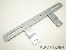 License Plate Bracket - Front VW Bug Type 2 Ghia T3