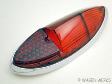 Tail Light Lens - Karmann Ghia 1960 to 1969