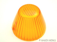 Turn Signal Lens - Karmann Ghia 1964 to 1969 - Amber
