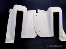 Rear Hatch Hinge Covers - Type 2 Bus 1964 to 1967